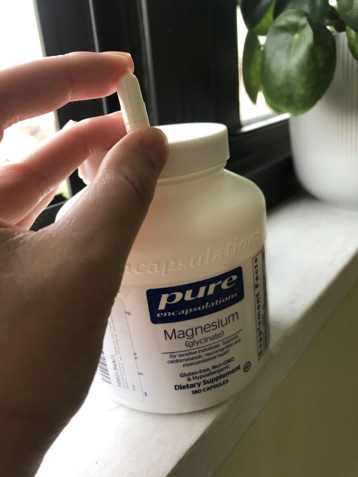 約1ヶ月前よりマグネシウムサプリメントを飲んでいます。