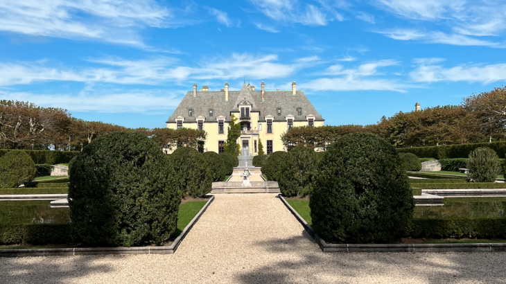 NYロングアイランドにあるお城でランチ。オヒカ城 (Oheka Castle)